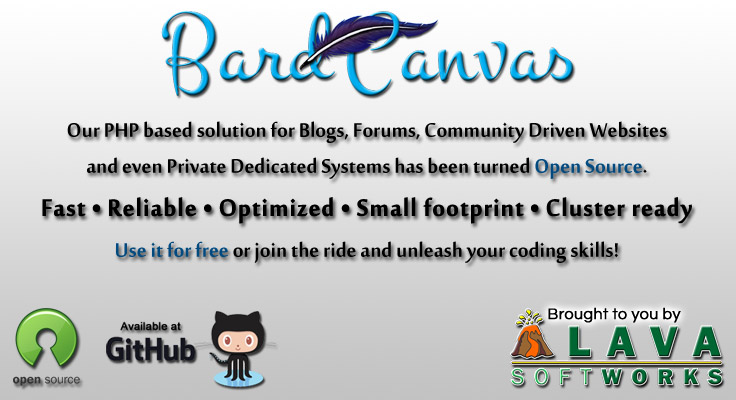 BardCanvas: Open Source PHP engine and CMS